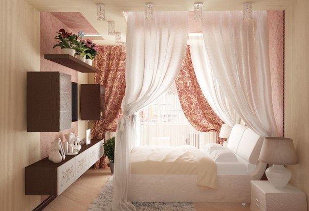 Идея интерьера спальни