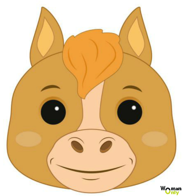 Новогодние маски из бумаги - праздник уже с вами маска лошади
