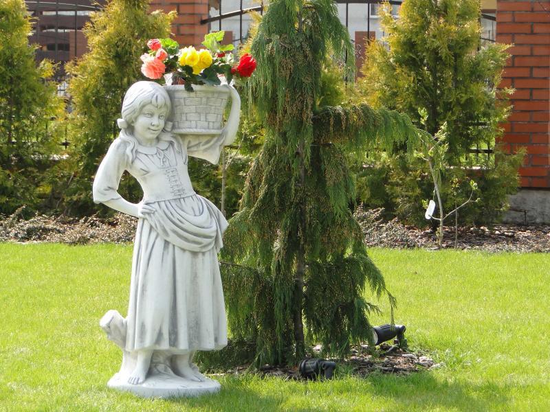 Большие садовые скульптуры