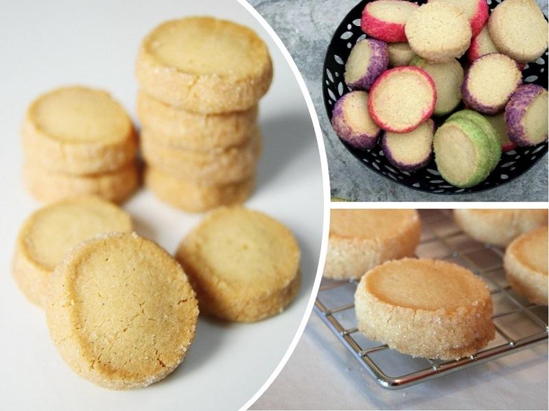 Очень вкусное песочное печенье: сияющий корочкой хрустальный сахар и манящий ванильный аромат