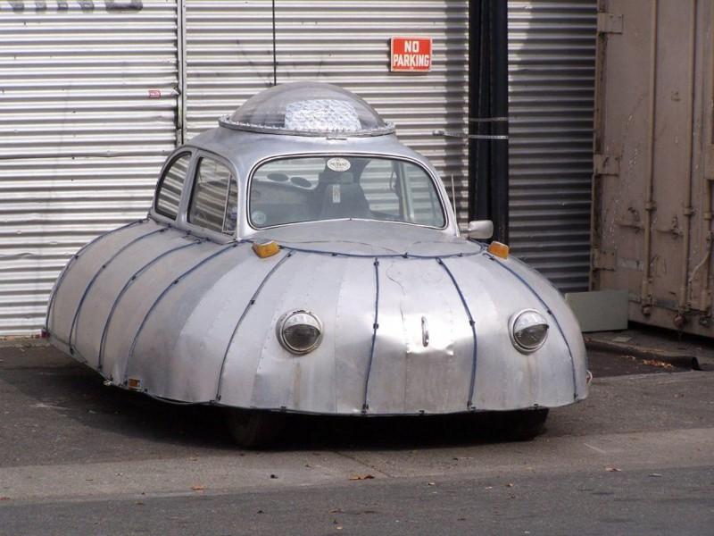 9. Автомобиль-НЛО автомобили, концепт-кары, странности