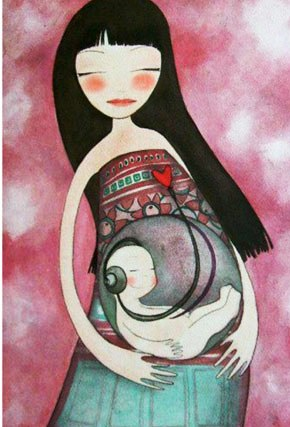 17 тёплых иллюстраций, после которых возникает лишь одно желание — обнять маму как можно скорее