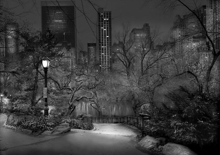 Загадочный и тихий Центральный парк Нью-Йорка