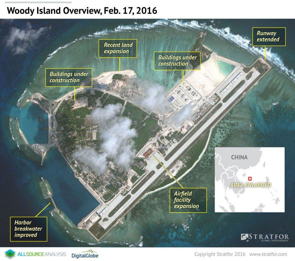 Разведка США обеспокоена военной активностью Китая
