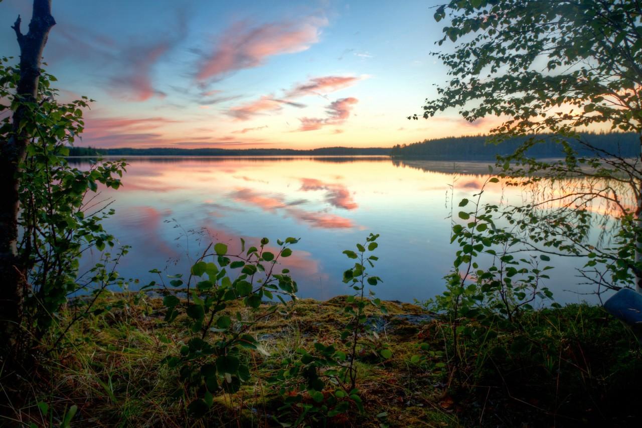 Озеро Пяозеро. карелия, природа, россия