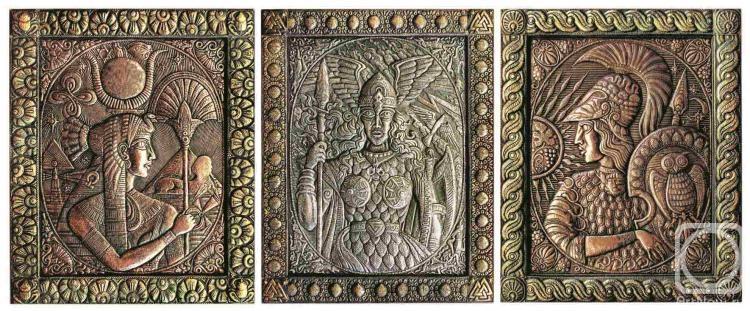 "Морозов Виктор. Триптих ""Великие богини"""
