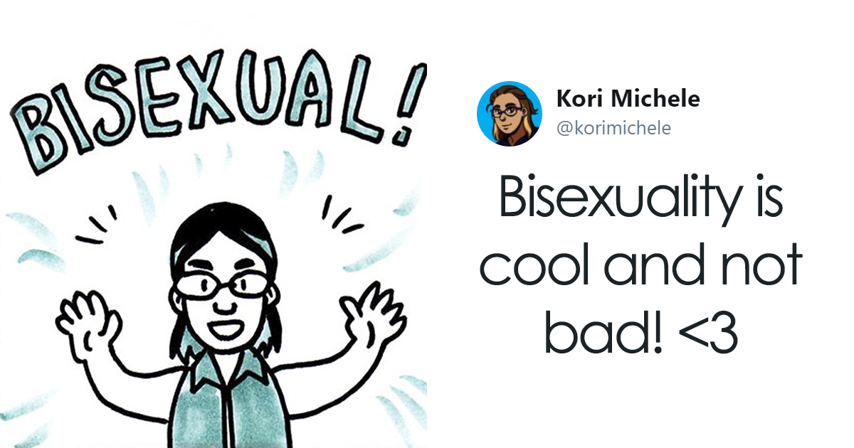 'Very Queer' Artist Explains Bisexuality In Simple Comic, Starts Heated Discussion On Internet