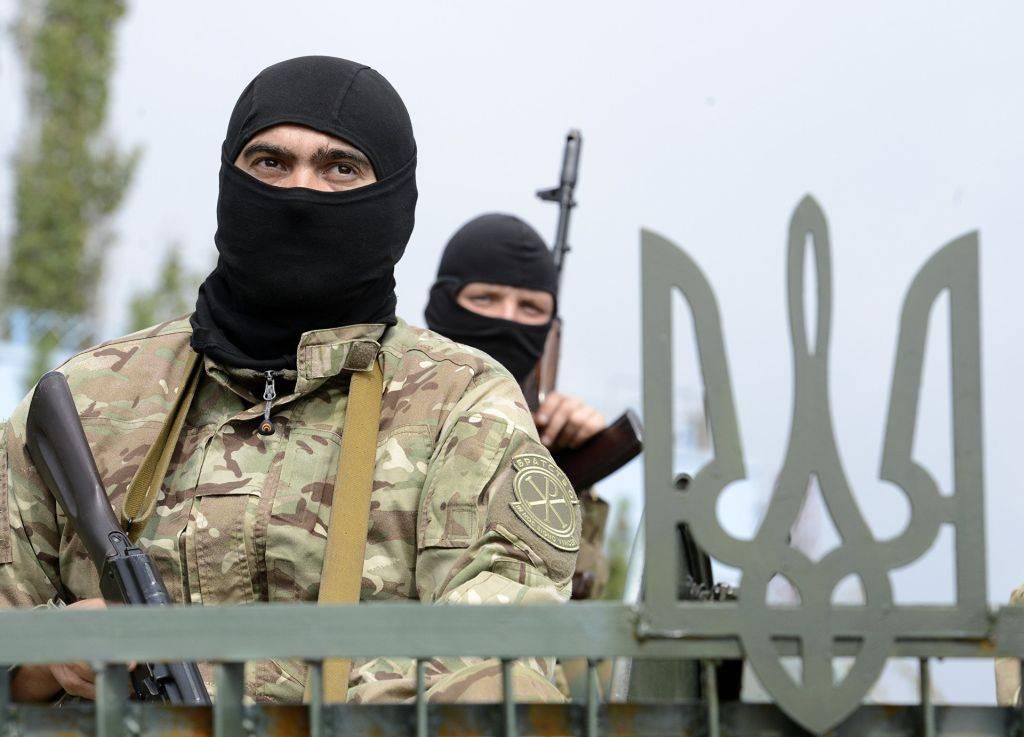 Укронацист с исламским терро…