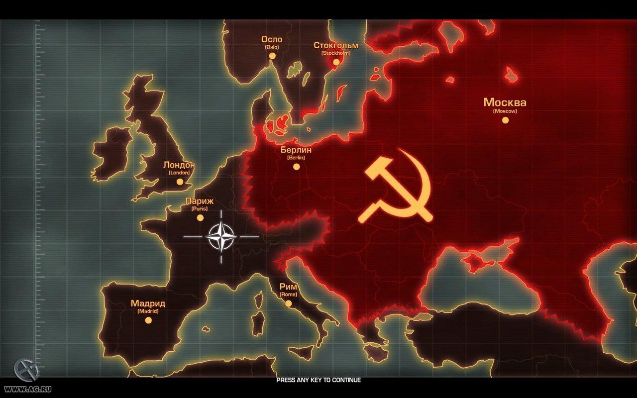 СССР против НАТО