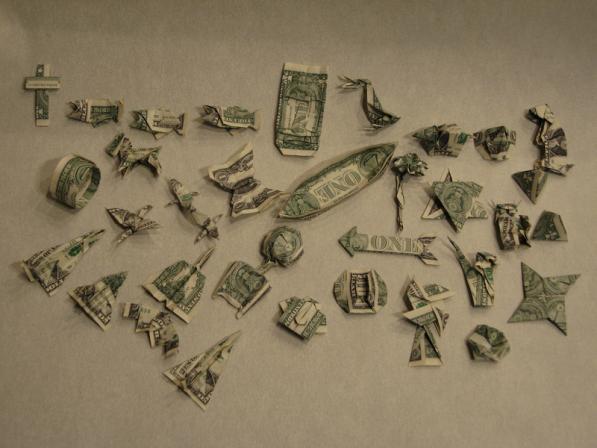 Как из денег сделать сердечка - Vingtsunspb.ru