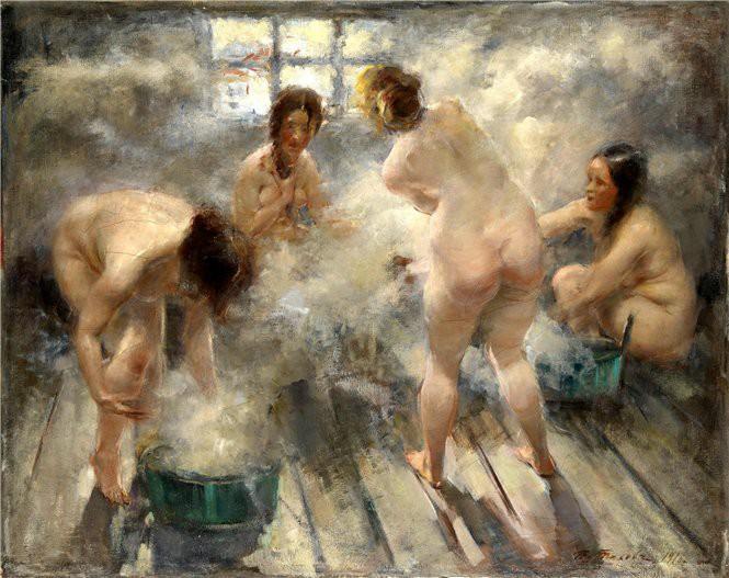 Почему иностранцы боялись русской бани баня, история, с легким паром