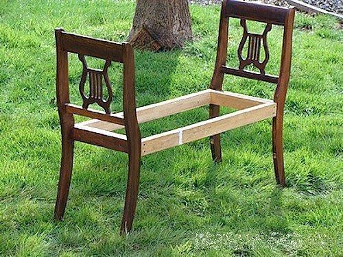 Как сделать стул домашних условиях 94