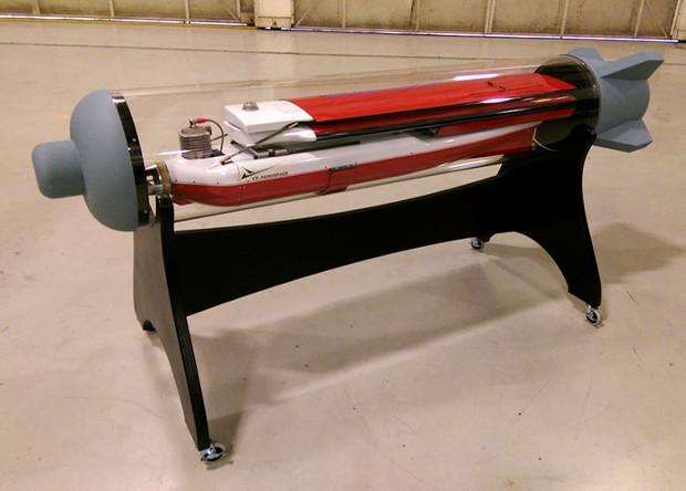 Американцы показали контейнерный беспилотник для запуска с истребителя
