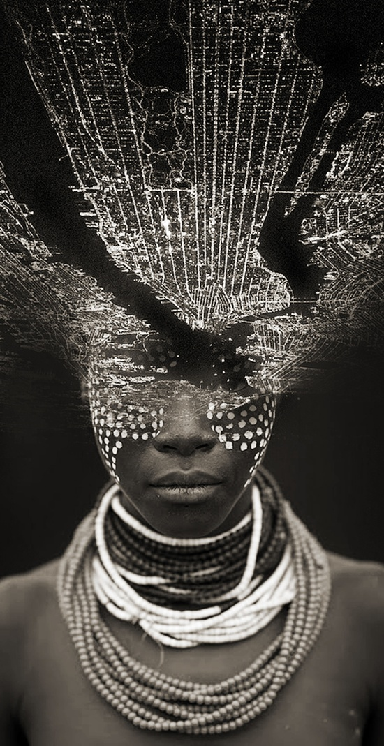 """Dreamfaces"" от Antonio Mora (45 фотоколлажей)"