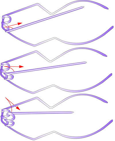 Змея - плетение из фольги - своими руками. Символ 2013 года. Мастер-класс Олеси Емельяновой. Схема плетения головы змеи 5