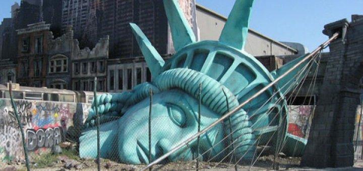 Конец США