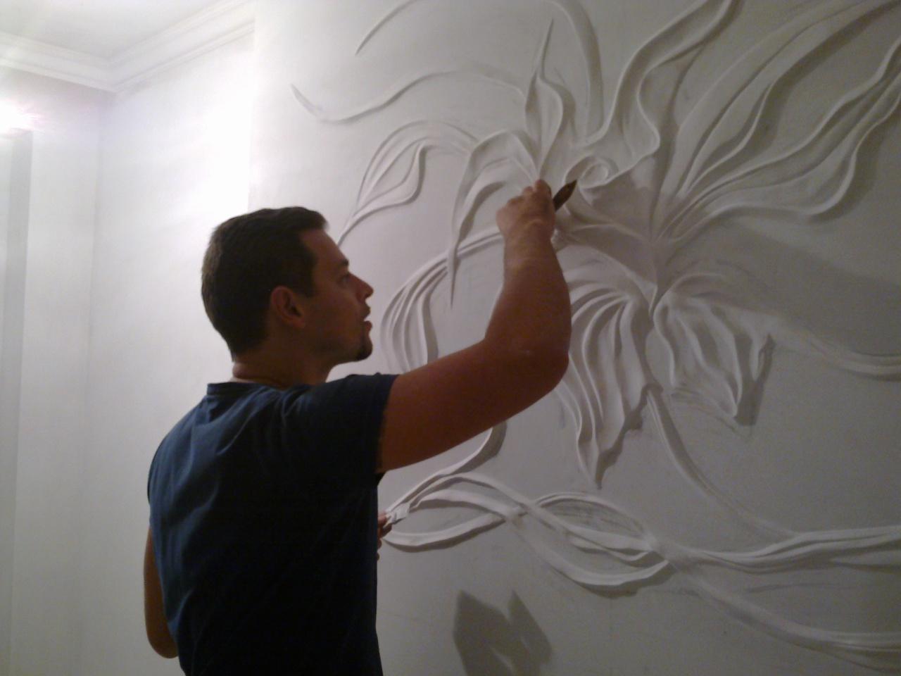 Барельеф на стене своими руками фото