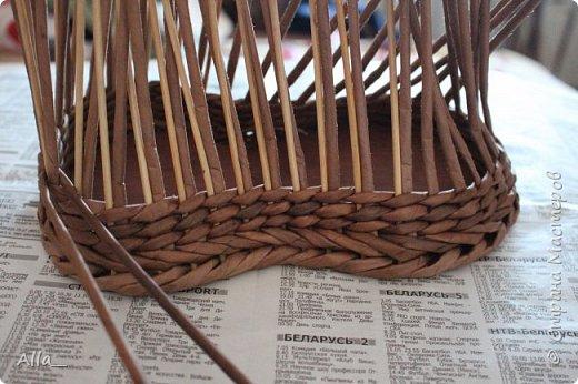 Мастер-класс Поделка изделие Плетение Как я делаю башмак Трубочки бумажные фото 4