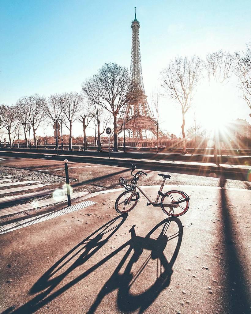 Изумительные парижские пейзажи в объективе Татьяны Личчиа