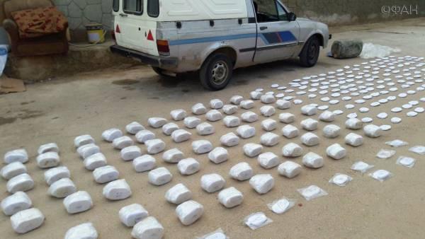 Очередная партия наркотиков задержана правительственными войсками в Сирии