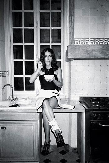 Парижская домохозяйка Сальма Хайек