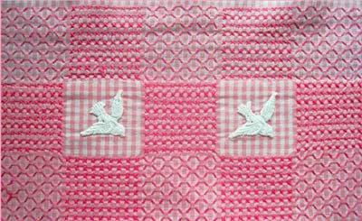 Вышивка на клетчатой ткани или Chicken scratch embroidery