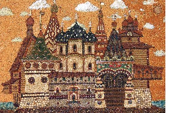 Зернышко к зернышку: замечательные мозаики из круп