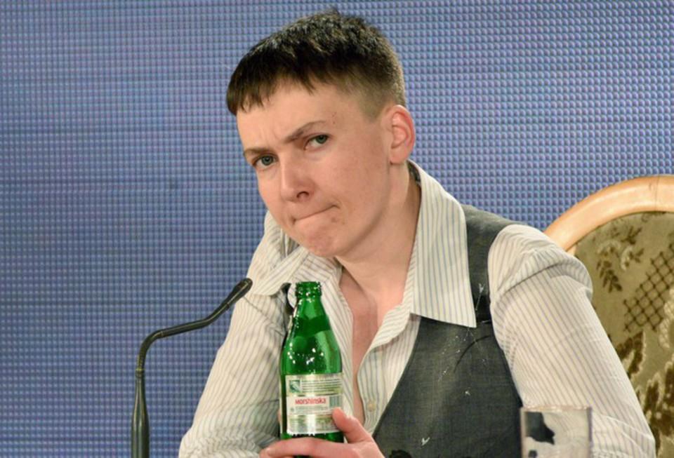 Надежда Савченко угодила в пьяное ДТП