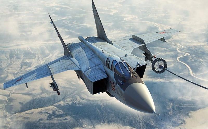 Страшная катастрофа: российский МИГ-31 потерпел крушение