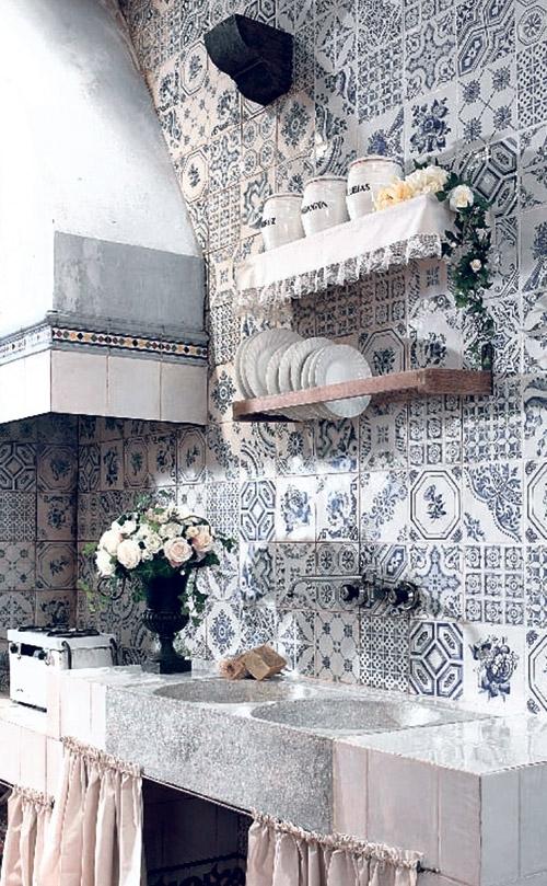 Мозаичная плитка в декоре интерьеров