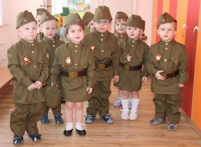 Я горжусь,что я живу в России дети, победа, юбилей