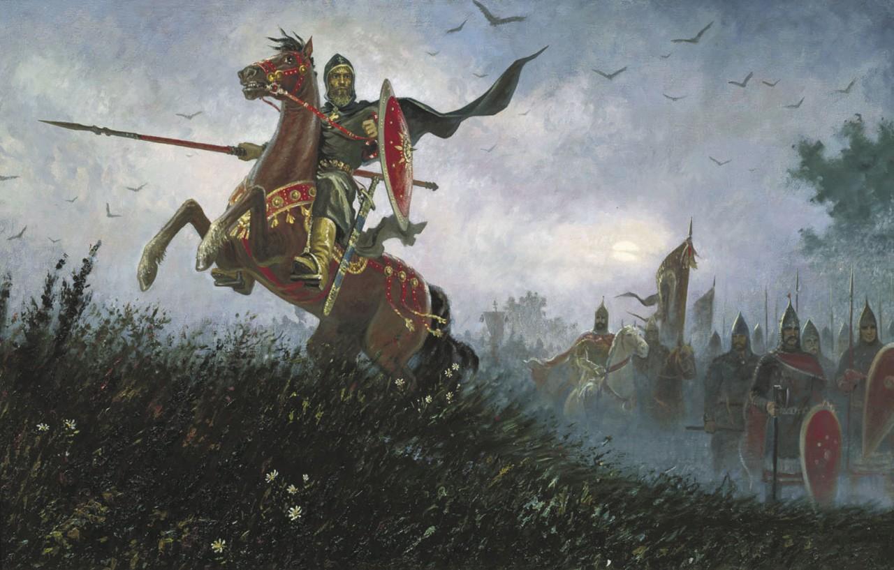7. Славяне могли дать отпор любому врагу, пришедшему на их землю. Древняя Русь, история, славяне