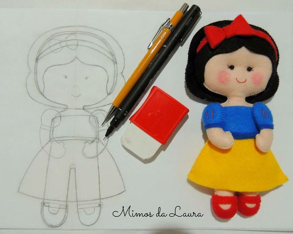 Куколка своими руками из ткани