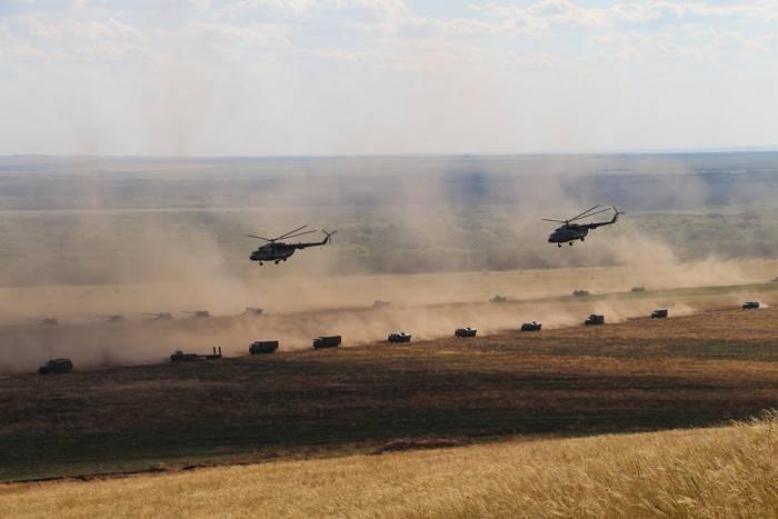 В Кемеровской области началось учение мотострелков и авиации ЦВО