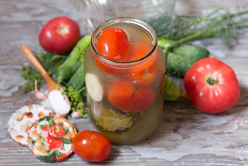 Ассорти на зиму из овощей