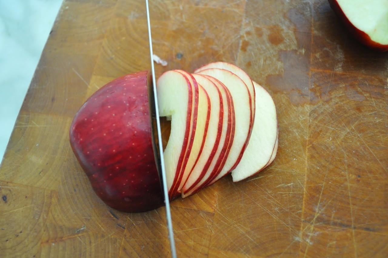 Как сделать яблоки смотреть