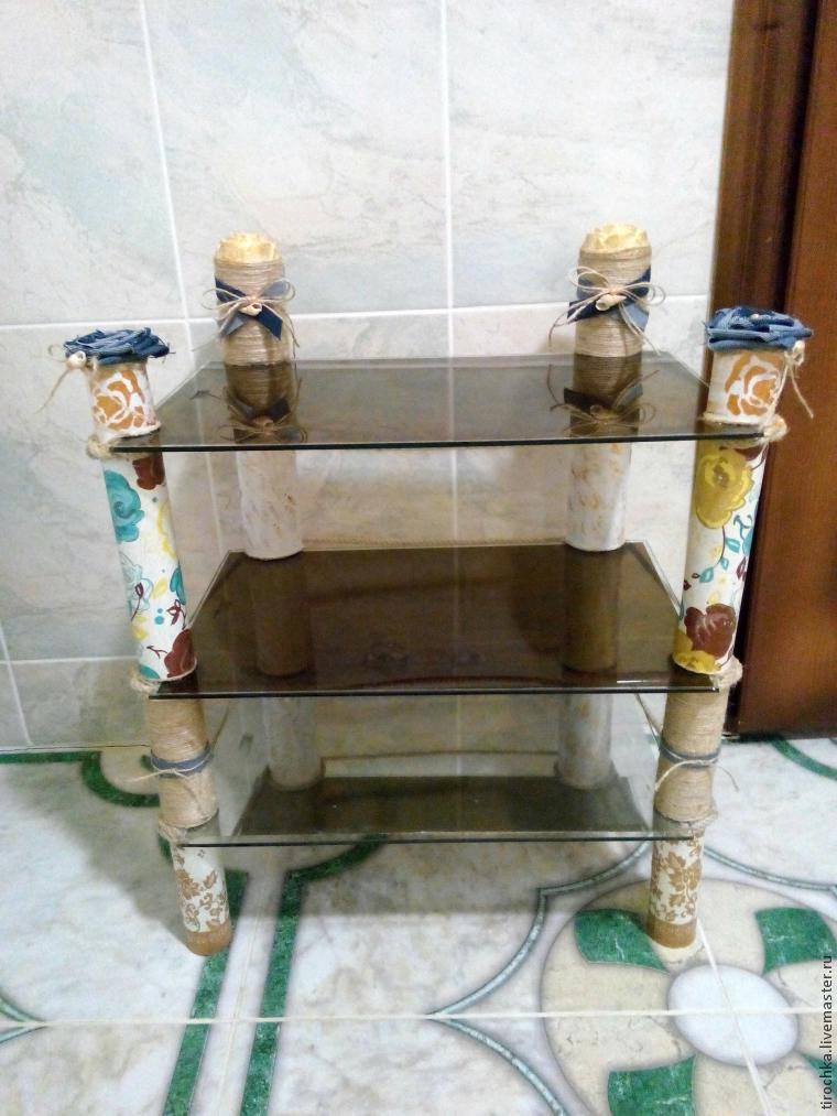 Полка в ванную своими руками мастер класс 11