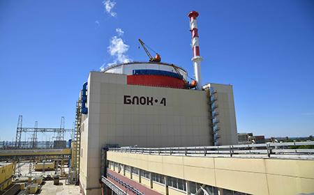 На Ростовской АЭС успешно прошли сдаточные испытания