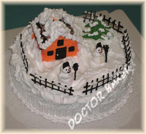 Торт 3110 Зимушка-Зима