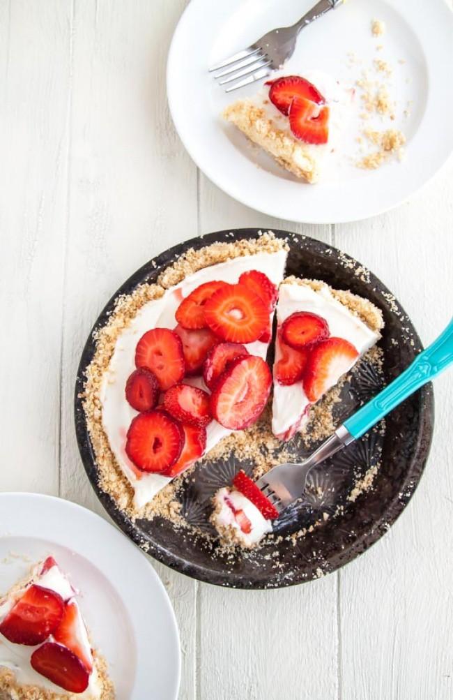 9 замечательно вкусных тортов, которые не нужно печь вкусный торт, рецепт без готовки