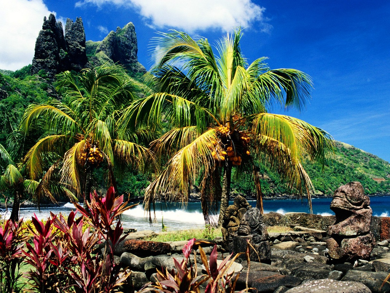 Остров, который посещали инопланетяне ?