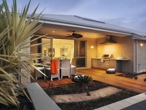Фото дизайн дома с летней верандой