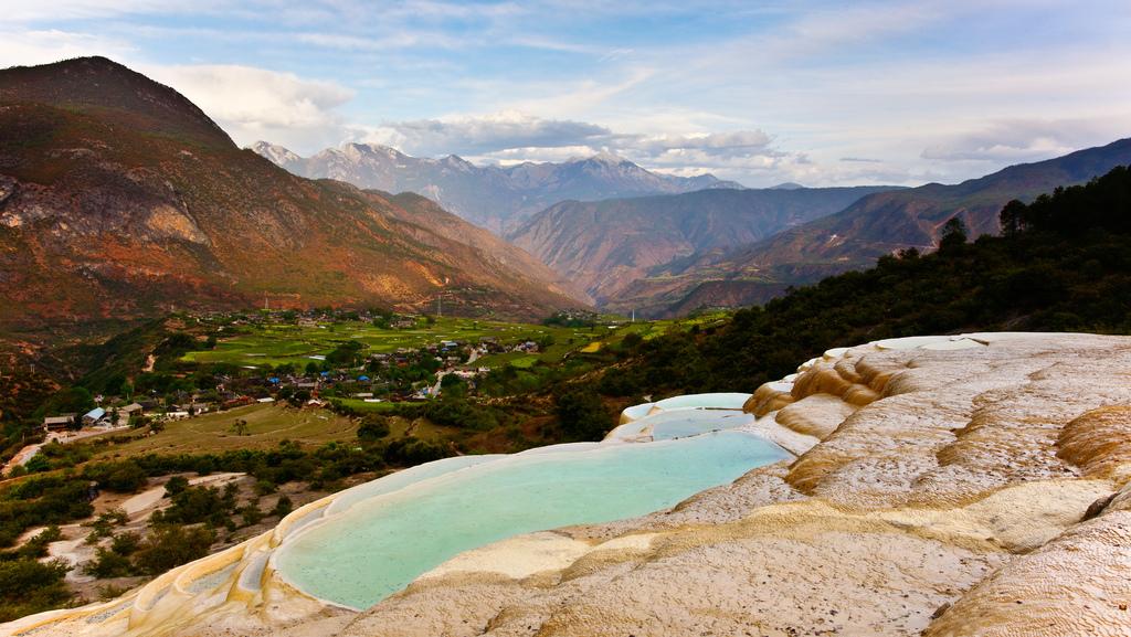 baishuitai10 Чудо китайской природы: Террасы белой воды