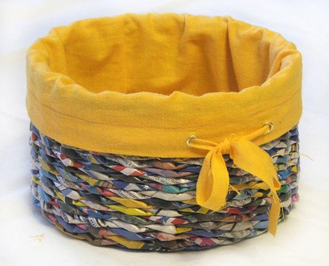 Рукоделие плетение корзин