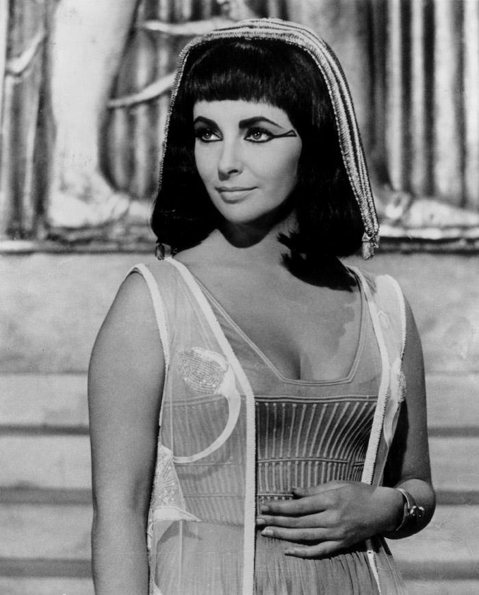 Элизабет Тейлор (Elizabeth Taylor) на съемках фильма «Клеопатра» (Cleopatra) (1963), фото 23