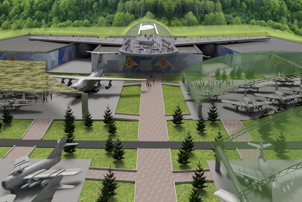 """Самый большой в мире музей военной авиации появится в парке """"Патриот"""""""