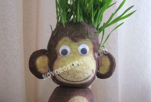 обезьянка своими руками к новому году