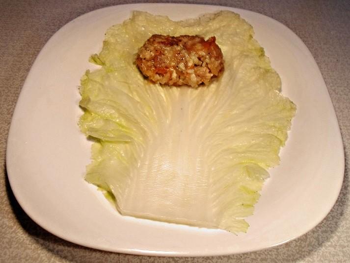 Голубцы из пекинской капусты с мясом и рисом голубцы, еда