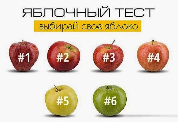 Тест. Выбери свое яблоко! Какой сорт яблок лучше всего олицетворяет Вас?