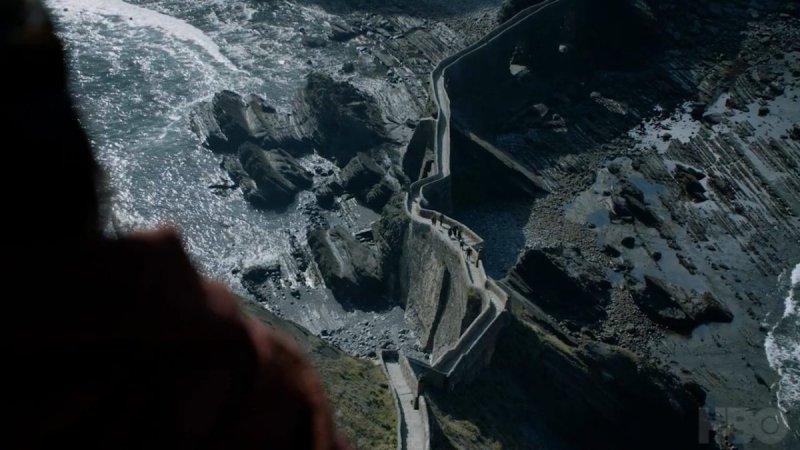 """Там, где снималась """"Игра престолов"""": поездка на Драконий камень Гастелугаче, Драконий камень, достопримечательность, игра престолов, интересные места, испания, места съемок, туризм"""